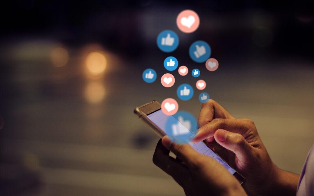 Engagera i sociala medier